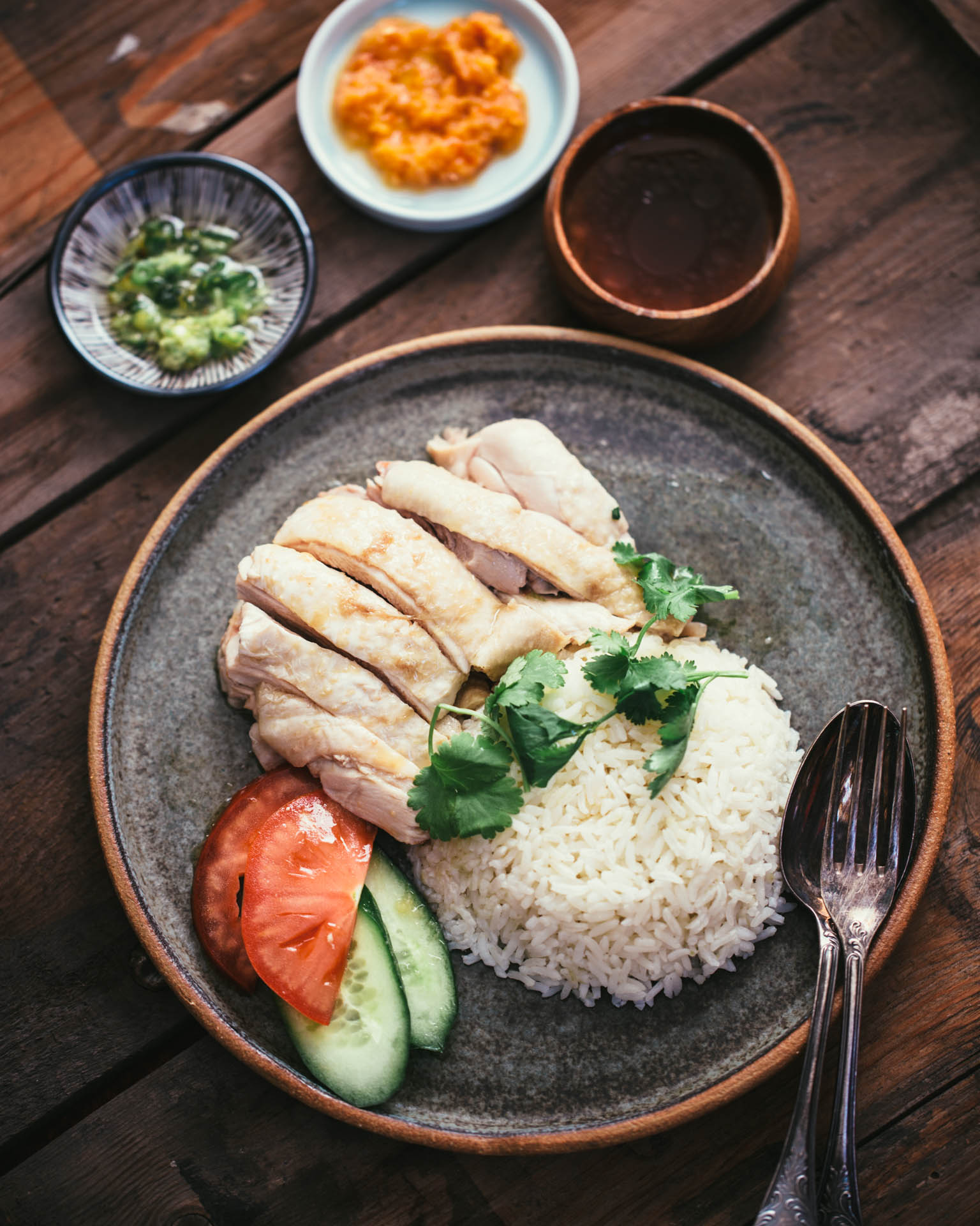 Authentic Hainanese Chicken Rice Adamliaw Com