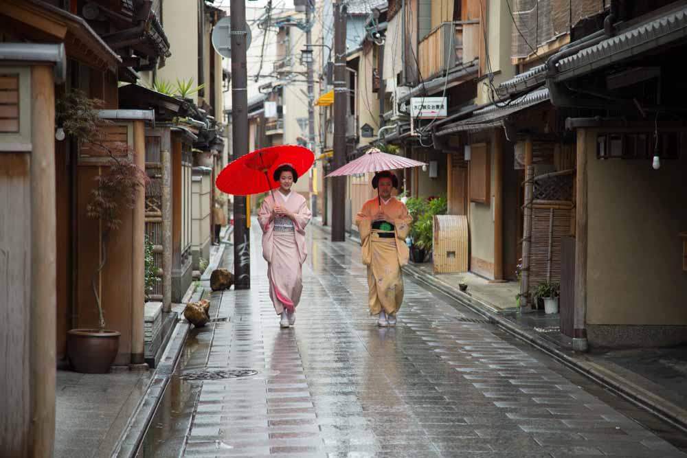 Maiko (apprentice geisha) in Kyoto