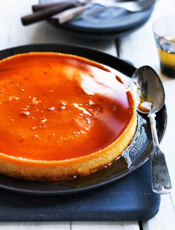 Sweet Pumpkin Flan